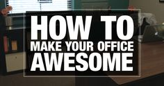 HOW TO | Make Your Office Awesome | ellecampbell.org #youthmin #stumin