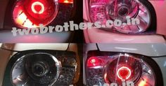 LED tail light | Projector headlights|Led Headlights Bulbs | Maruti ritz projector lights | Hyund...