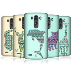 HEAD CASE DESIGNS PATTERNED ANIMAL SILHOUETTES CASE COVER FOR LG G3 D850 #HeadCaseDesigns