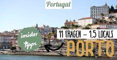 ✈ Porto - ein beliebtes Reiseziel. Auf der Suche nach den besten Reise- & Insider Tipps haben wir 1,5 Locals 11 Fragen zu Porto und Portugal gestellt. Travel Through Europe, Reisen In Europa, Portugal Travel, Travel And Leisure, Travel Goals, Where To Go, Travel Usa, Travel Inspiration, Travel Destinations