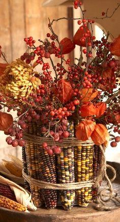 <3 fall centerpiece....