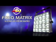 Learn more bout the ADJ FREQ MATRIX with this video