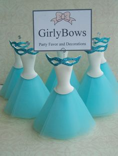 Masquerade Place card holders (10 pieces per order)
