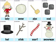 there was an old lady who swallowed some snow activities - Google Search