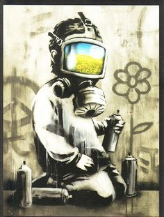 Banksy by erokism, via Flickr