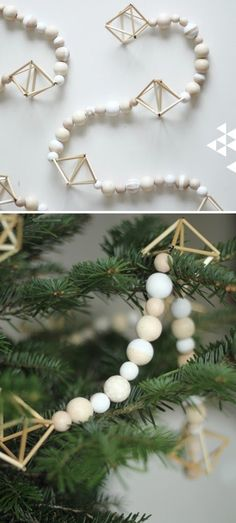 33 The Most Alluring DIY Scandinavian Christmas Decoration Ideas Puukuulaistuimen helmistä? 33 The Most Alluring DIY Scandinavian Christmas Decoration Ideas Modern Christmas Ornaments, Scandinavian Christmas Decorations, Noel Christmas, Winter Christmas, Diy Christmas Tree Garland, Modern Christmas Decor, Advent Wreaths, Christmas Tables, Christmas Ideas