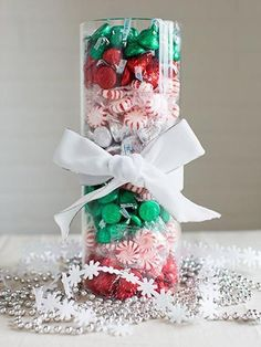 50 Fabulous Christmas Table Decorations on Pinterest | Christmas Celebrations