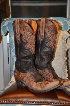 Loved Old Gringo Boots - the best!  Mine have holes in the soles ... literally!