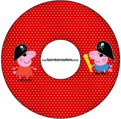 CD DVD George Pig Pirata (Peppa Pig):