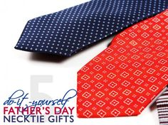 5 Ways to Recycle an Old Necktie Into a Last-Minute Father's Day Gift   Ecouterre