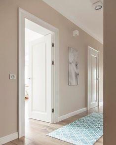Ideas for painted door interior ideas bedroom colors Interior Paint, Interior Design Living Room, Modern Interior, Interior Decorating, Hallway Decorating, Interior Doors, Interior Ideas, Decorating Ideas, Home Living Room