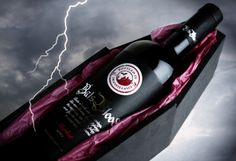 Bats Blood Merlot from Tansylvania ~ love the coffin box in which it is packaged!  This looks just like the kind of wine my funny and talented friend, Teri, would bring to a Haunting Halloween Party!  :)