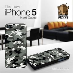 iPhone 5 Case iPhone 5 Cover  Urban Camo iPhone by ArmadilloCases