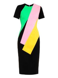 Lockwood colour-block crepe dress   Roksanda   MATCHESFASHION.COM US