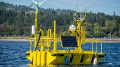 "The Pacific Northwest National Laboratory is using two buoys designed to collect data on harnessing offshore wind energy in coastal waters. One buoy is planned for Coos Bay, Ore., and the second is set for Virginia Beach, Va. Researchers will use the buoys to learn about ""air-sea interactions and their impact on how much wind energy a turbine could capture at particular offsite locations,"" said the PNNL"