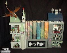 Harry Potter of course! (Awesome bookends too)