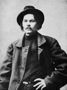 ๑ Nineteen Fourteen ๑ historical happenings, fashion, art & style from a century ago - Maxim Gorki returns from exile to Russia, 1914