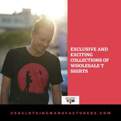 Bulk menswear and t shirts at the best wholesale prices can be ordered now from USA Clothing Manufacturers. Click the link, check out the online collection and order today! Wholesale Blank T Shirts, Wholesale Blanks, Online Collections, Cool T Shirts, Menswear, Usa, Link, Clothing, Check