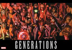 Marvel Comics Teases Generations With Alex Ross Art - Cosmic Book News