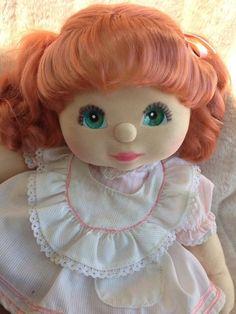 My Child Doll Red Ringlet Pony Aqua Charcoal Minty