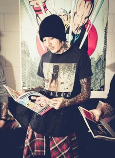 #Oli Sykes #Bring Me The Horizon