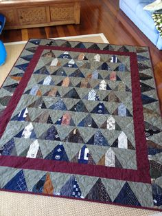 Triangle quilt with Jane at bebebold