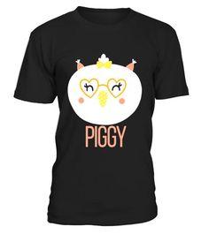 T shirt  1st 100 Words PIGGY T-Shirt Baby Loves Animal Eyes Smile Pig  fashion trend 2018 #tshirt, #tshirtfashion, #fashion #pregnancyannouncementshirtsforwomen,
