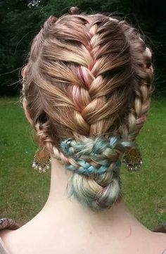 lace braid heart valentines day hairstyles