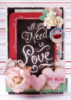 Cardmaking, Valentines Day, Scrapbooking, Frame, Projects, Inspiration, Decor, Valentine's Day Diy, Picture Frame