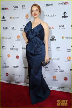 Christina Hendricks International Emmy Awards 2014