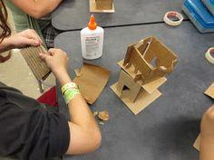 Zilker Elementary Art Class: Fourth Grade House Sculptures