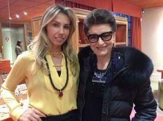 Camila Klein Visita da Costanza Pascolato ao showroom