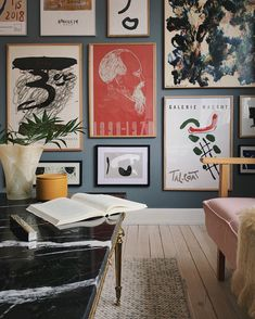 - Best ideas for decoration and makeup - Home Interior Design, Interior Architecture, Interior Decorating, Vintage Interiors, Creative Decor, New Wall, Home Decor Inspiration, Decoration, Wall Art Decor