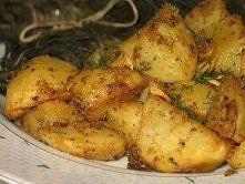 Ziemniaki pieczone z musztarda Bardzo fajny pomysł na pieczone ziemniaki. Po ...