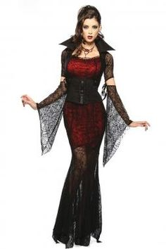 Cheap vampire costume women, Buy Quality vampire costume directly from China cosplay costume Suppliers: Gothic Sexy Costume Halloween Dress Costume Sexy Witch Vampire Costume Women Masquerade Party Halloween Cosplay Costume 8836 Costume Halloween, Costume Sexy, Halloween Outfits, Costume Dress, Queen Costume, Halloween Party, Halloween 2016, Doll Costume, Women Halloween