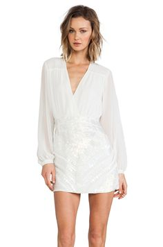 bless'ed are the meek Glamorous Dress in Ivory from REVOLVEclothing