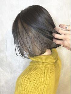 Under Hair Dye, Under Hair Color, Hidden Hair Color, Two Color Hair, Hair Color Underneath, Bob Hair Color, Hair Color Streaks, Hair Color Purple, Shot Hair Styles