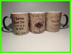 hogwarts mugs marauders map mugs coffee Tea art Heat reveal magic Mug Gryffindor Hufflepuff Ravenclaw Slytherin Mugen