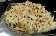 Creamy Italian Cold Pasta Salad Recipe…