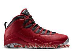 Air Jordan 10 X Retro 30TH 705178-601 Chaussures Jordan Officiel Pas Cher  Pour Homme