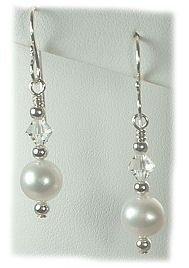 designer jewelry pearl earrings