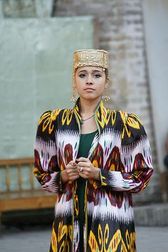 Uzbek Folklore & Fashion Show. Across Lyabi-Hauz (pond) in the Nadir Divanbegi Medressa, in Bukhara, is the nightly folklore and fashion show, with traditional musical performances and dancing. The show is staged mainly for the tour-bus crowd. (V)