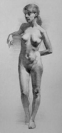 Drawing The Human Figure - Tips For Beginners - Drawing On Demand Female Drawing, Body Drawing, Life Drawing, Drawing Sketches, Art Drawings, Figure Drawings, Figure Drawing Models, Figure Sketching, Figure Drawing Reference