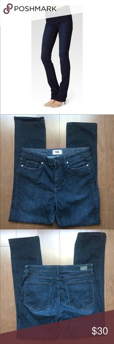 PAIGE JEANS Size 31. Worn one time and washed. New condition. No holes or stains. PAIGE Jeans
