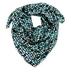 Grand foulard en soie noir imprimé Palme 100 x 100 cm -  Foulard/Foulard soie carré - Mes Echarpes http://www.mesecharpes.com/carre-soie/grand-carre/grand-foulard-en-soie-noir-imprime-palme-100-x-100-cm.html