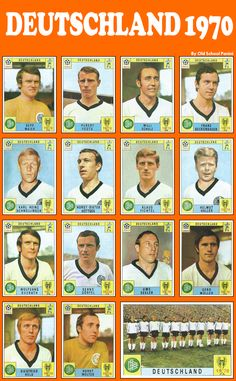 RFA. World Cup 1970.