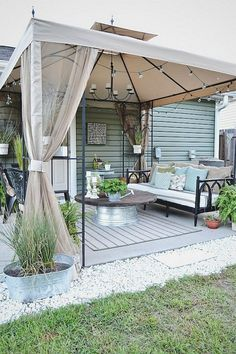 patio ideas on a budget & patio ideas + patio ideas on a budget + patio ideas on a budget backyard + patio ideas apartment + patio ideas decorating + patio ideas on a budget diy + patio ideas diy + patio ideas on a budget pavers Budget Patio, Patio Diy, Backyard Patio Designs, Backyard Landscaping, Backyard Decorations, Landscaping Design, Outdoor Patio Ideas On A Budget Diy, Pergola Designs, Deck Design