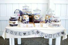 Sarah's Wedding: Candy Table