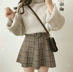 clothes fashion kfashion korean fashion style street style cute kawaii soft pastel aesthetic outfit inspiration elegant skinny fashionable spring autumn winter cozy comfy clothing dresses skirts blouse r o s i e Korean Fashion Trends, Korea Fashion, Asian Fashion, Tokyo Fashion, Japanese Fashion, Mode Outfits, Fall Outfits, Fashion Outfits, Fashion Ideas
