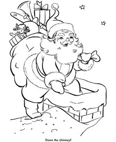 santa sleigh coloring pages printable | go back print this page go to the next page